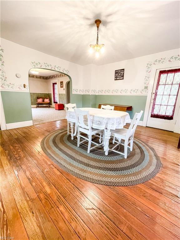 Dining room featured at 874 W Main St, Adena, OH 43901