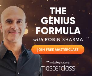 The Genius Formula with  Robin Sharma