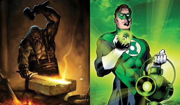 Hephaestus Green Lantern