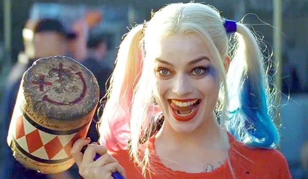 Margot Robbie with mallet