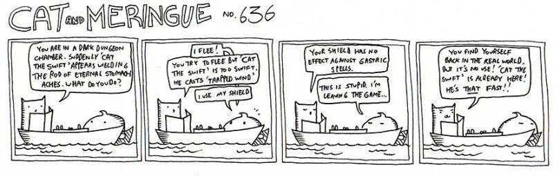 Cat and Meringue D&D