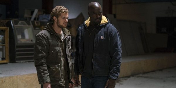 Iron Fist and Luke Cage