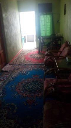 Ruang tamu homestay; dalam homestay ni ada 2 bilik.