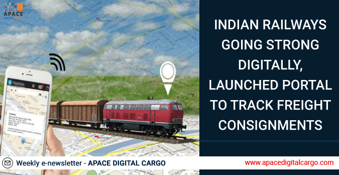 Indian Railways going strong digitally, launched portal to track freight consignments