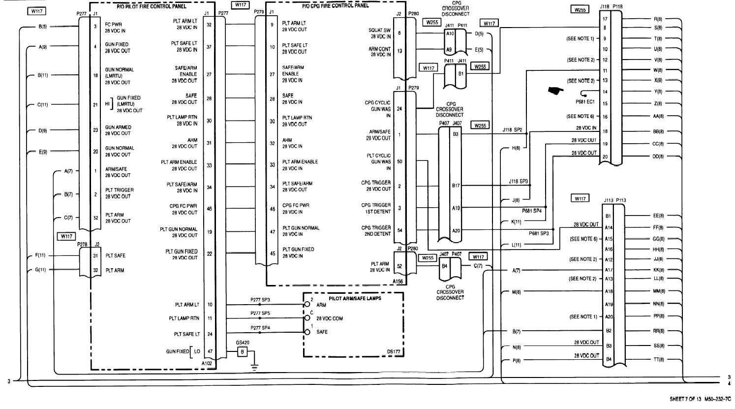 Sheet 7 Of 13 M50 232 3b