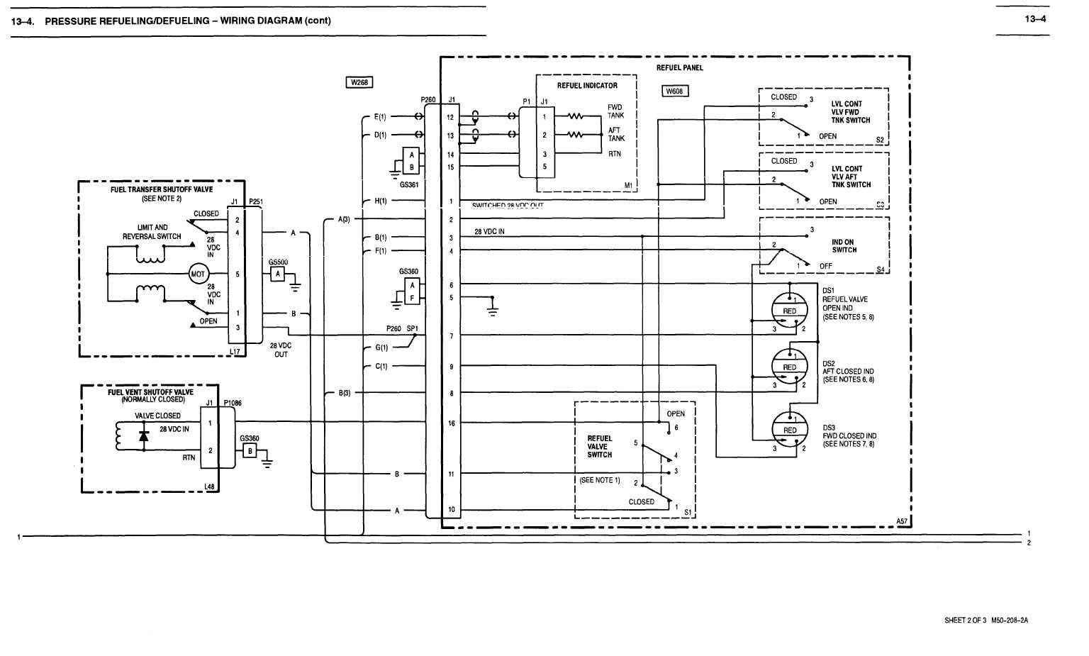13 4 Pressure Refueling Defueling Wiring Diagram Cont