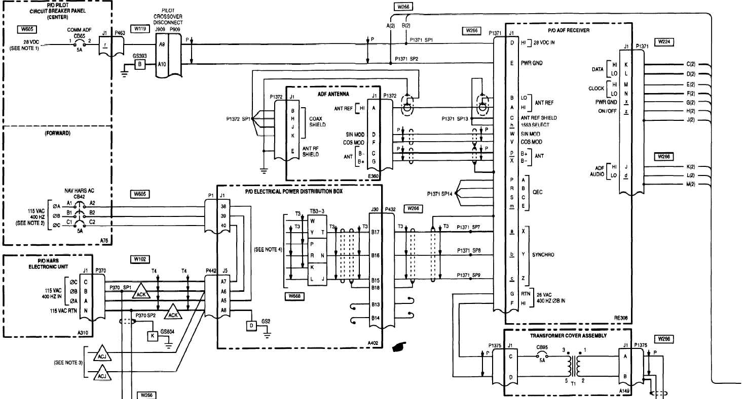 20 6 Automatic Direction Finder Adf An Arn 149 Wiring