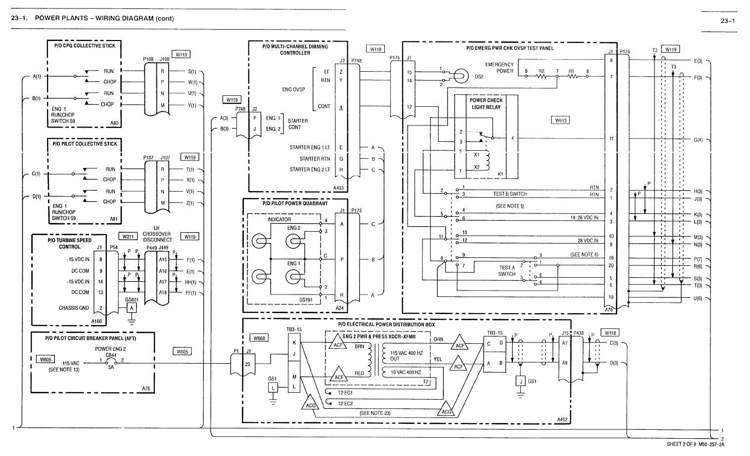 23 1 Power Plants Wiring Diagram Cont
