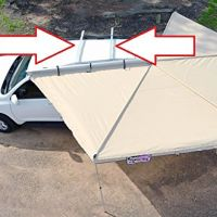 Dobinsons-4x4-Universal-Rooftop-Tent-Awning-Aluminum-Mounting-Channels-Cross-Ba