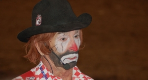 Lecille Harris Rodeo Clown At The Stampede Apache