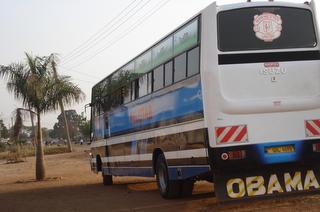 The new mudslide on the Felista bus that ferries people between Apac and Kampala