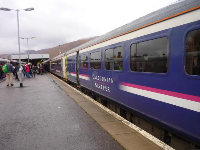 To the Scottish Highlands By Sleeper Train - Caledonian Sleeper Train