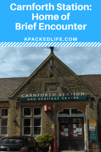 Don't linger in the refreshment room at Carnforth Station, lest you be tempted by a Brief Encounter