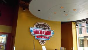 You could and should spend hours at the Rock n Soul Museum, Memphis