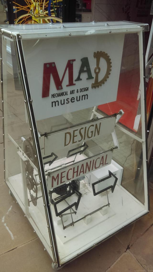 From steampunk to automata, you'll find every clanking device here at the Mechanical Art and Design (MAD) Museum