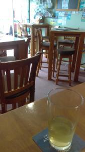 Hogans medium cider in the Stratford Alehouse