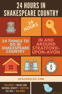 24 things to do over 24 hours in Shakespeare country