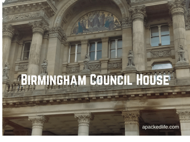 The rather beautiful Council House in Birmingham, home of local government