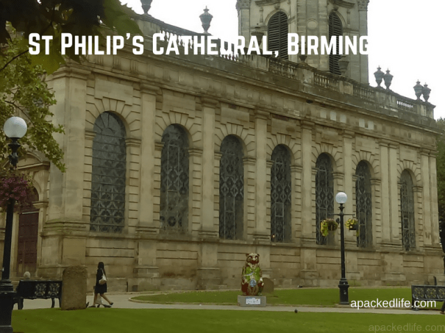 St Philip's Cathedral in the heart of Birmingham