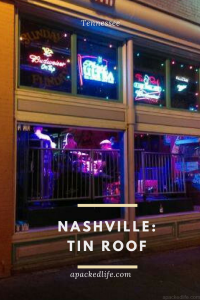 Tin Roof in Nashville, Tennessee. Three floors, three stages, mostly rock, and an open frontage to seduce you in.