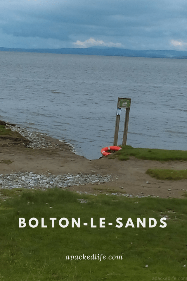 Sea Fever - Bolton-le-Sands at high tide