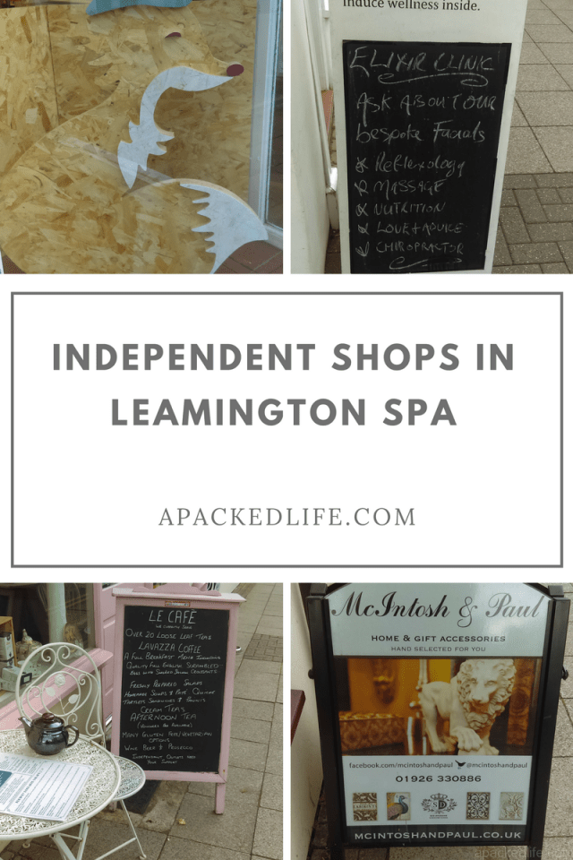 Royal Leamington Spa Independent Shops