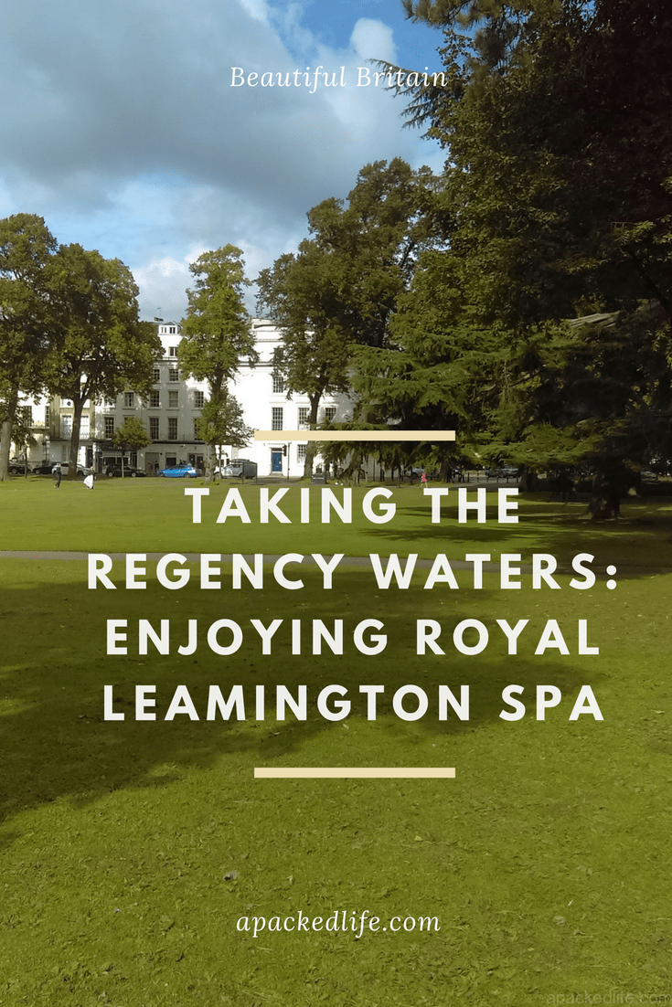Royal Leamington Spa, Taking the Regency Waters, Jephson Park