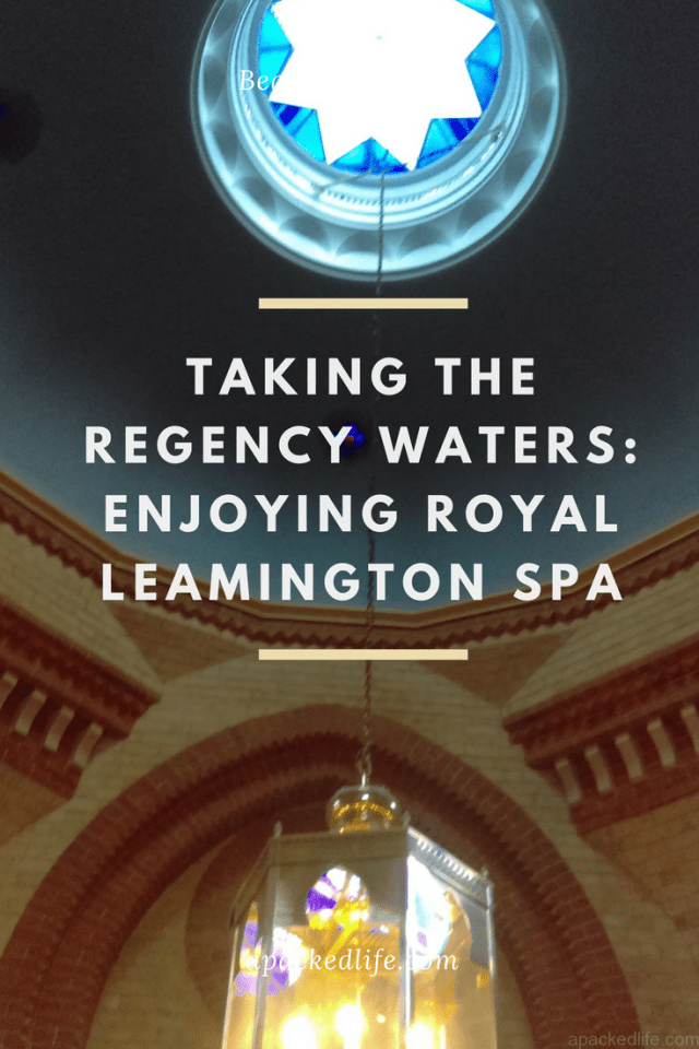 Royal Leamington Spa, Taking the Regency Waters, Royal Pump Rooms Hammam