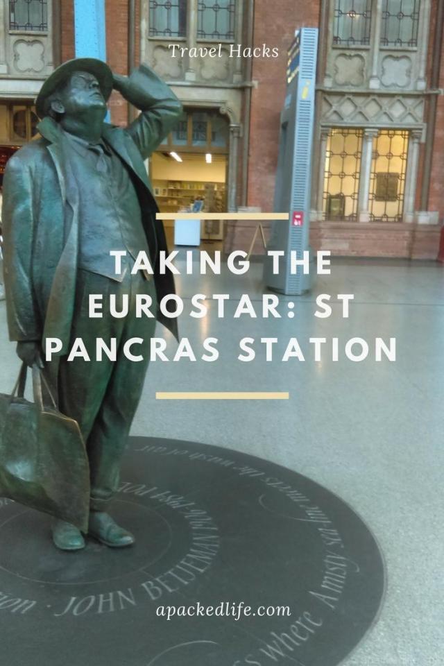 Taking The Eurostar - Commuter St Pancras