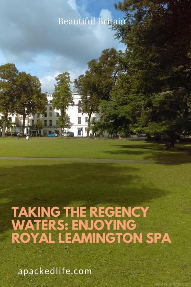 Taking the Regency Waters_ Enjoying Royal Leamington Spa, Warwickshire, England, United Kingdom