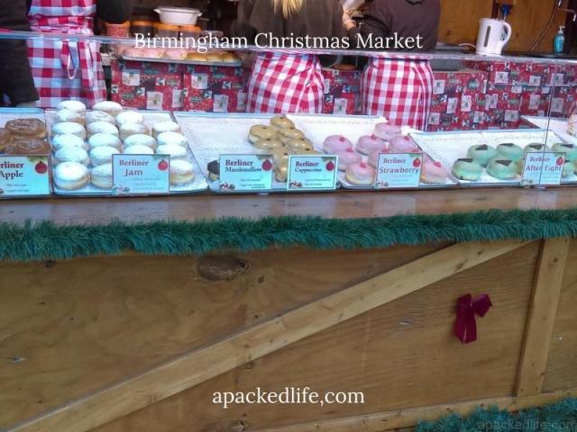 Birmingham Christmas Market - Berliner Doughnuts