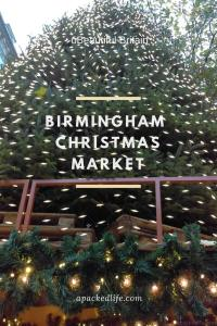 Birmingham Christmas Market - Christmas Tree