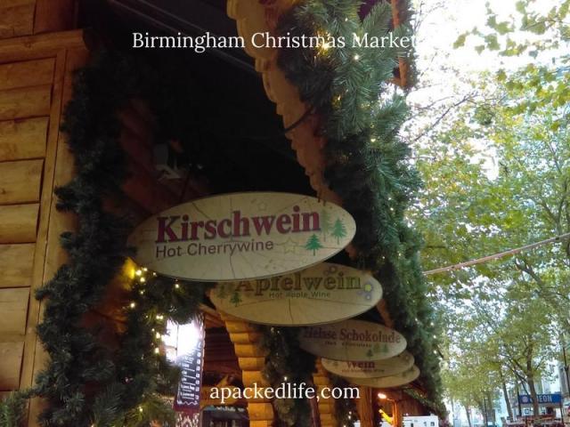 Birmingham Christmas Market - Wine Stall