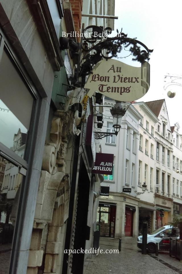 Brussels - Au Bon Vieux Temps