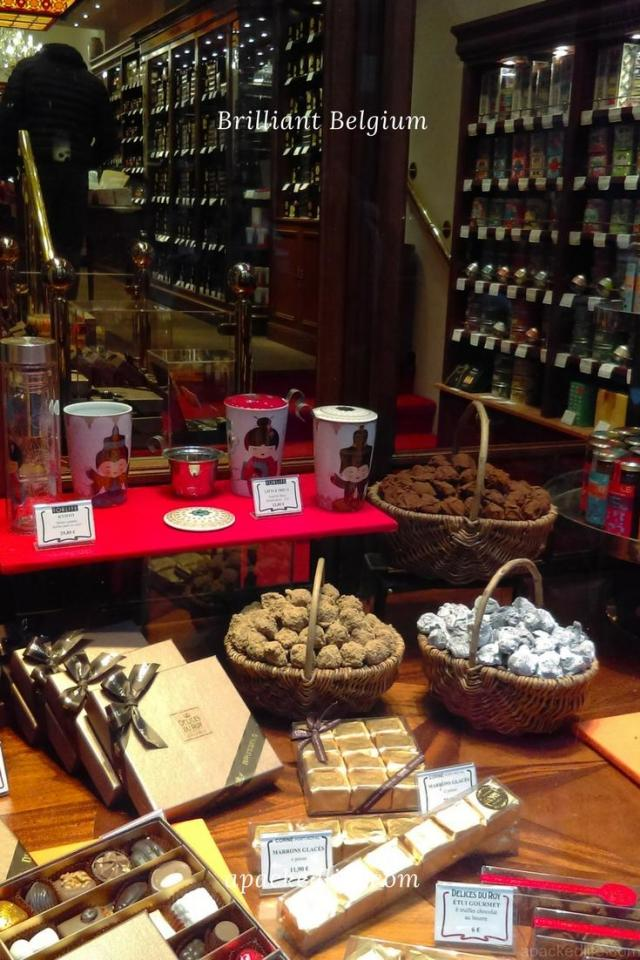 Brussels - Chocolate, Chocolate Everywhere