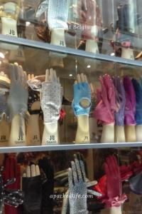 Brussels - Where Even Gloves Are Sold Like Delicacies