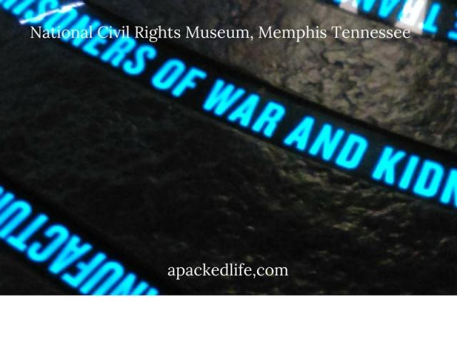 National Civil Rights Museum - Slave Routes