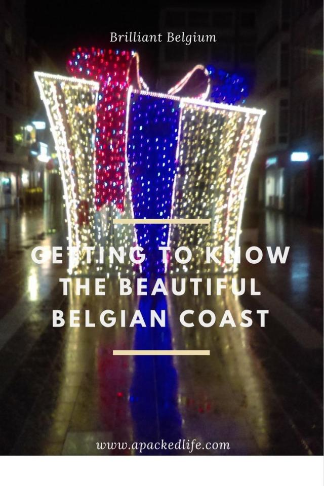 Belgian Coast - Christmas present at Blankenberge