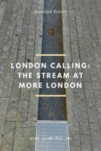 London Calling Shad Thames More London Stream