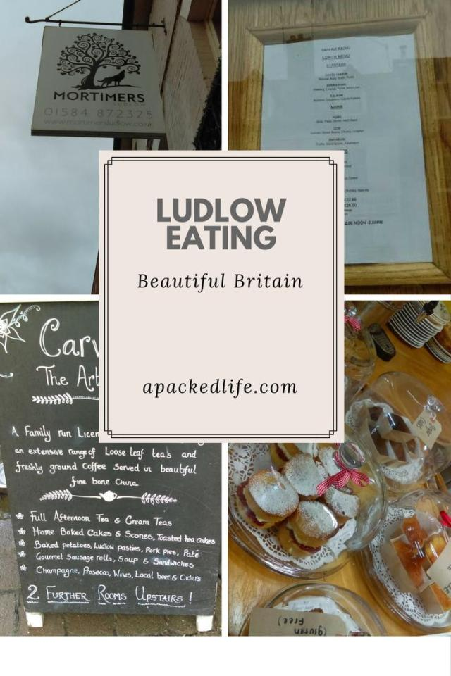 Historic Ludlow - exploring the charming foodie town - eating