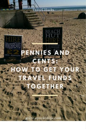 Pennies and Cents - How To Get Your Travel Funds Together - Beach