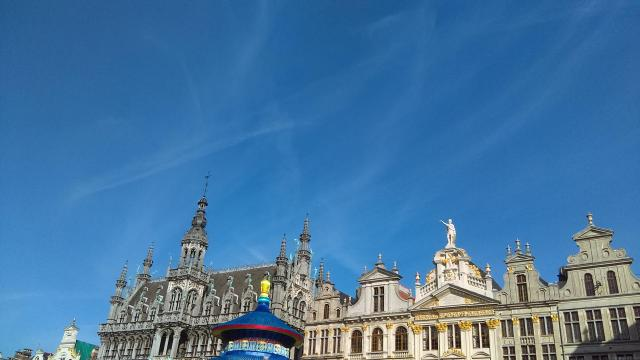 Best of Brussels - Fall in Love with Grand Place - Guildhouses at Brussels Grand Place
