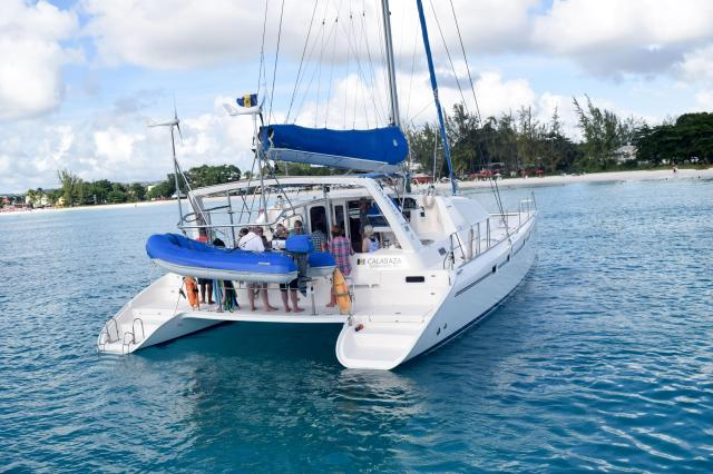 The Thought Card Calabaza Sailing Cruises Barbados - Best Boat Trips - apackedlife.com