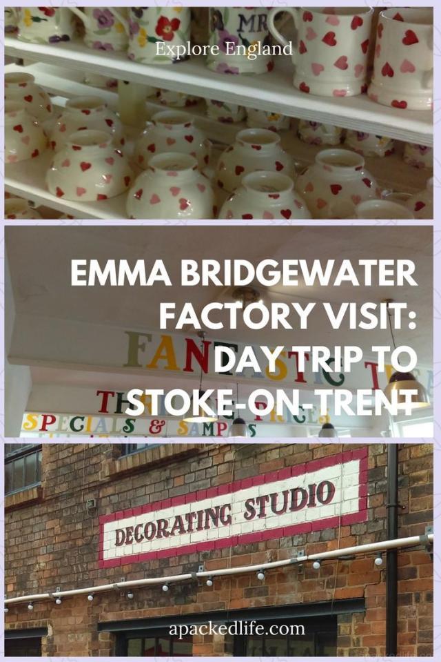 Emma Bridgewater Factory Visit - Day Trip To Stoke-On-Trent