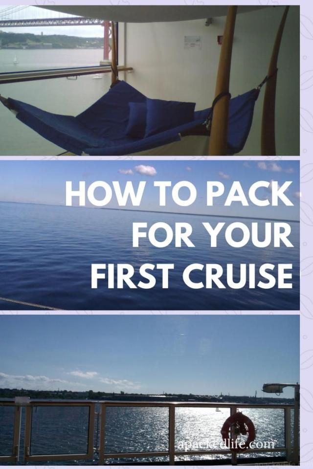 How To Pack For Your First Cruise