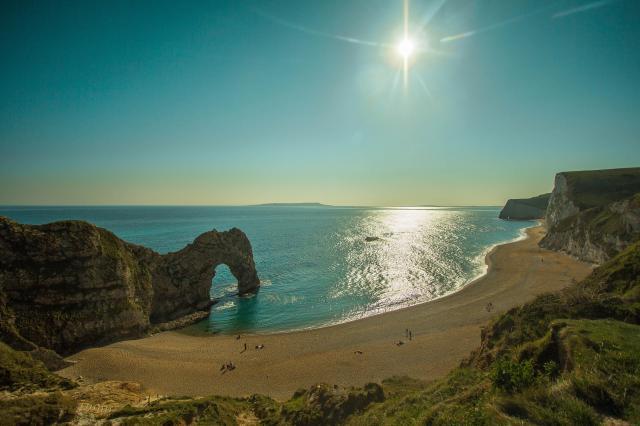 The 11 Best Beaches In England You Must Visit - Lulworth Cove, Durdle Door, Dorset