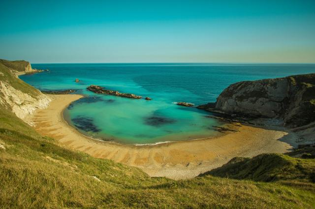 The 11 Best Beaches In England You Must Visit - Lulworth Cove, Durdle Door, Dorset