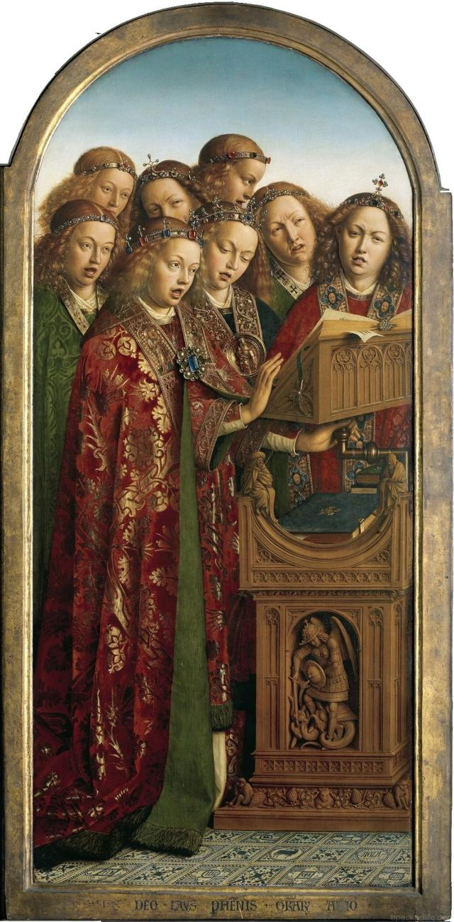 17 Things To Do In Glorious Ghent, Belgium - Altarpiece - Singing Angels