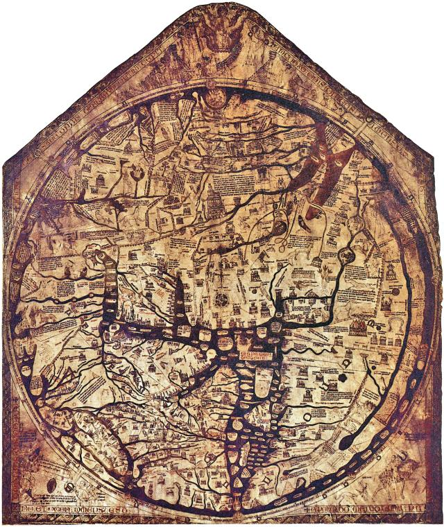 15 Heartwarming Things To Do In Herefordshire - Hereford Cathedral Mappa Mundi
