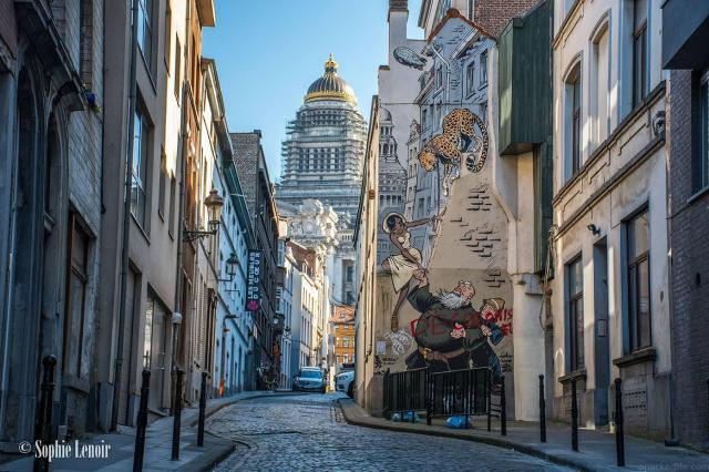 The Very Best of Belgium - Great Places and Experiences - Comic Strip Walk - Sophie Lenoir